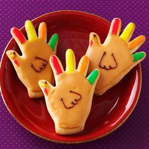 cookies, turkey, thanksgiving treats, kids