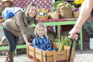 family, market, kids, preschool, activity