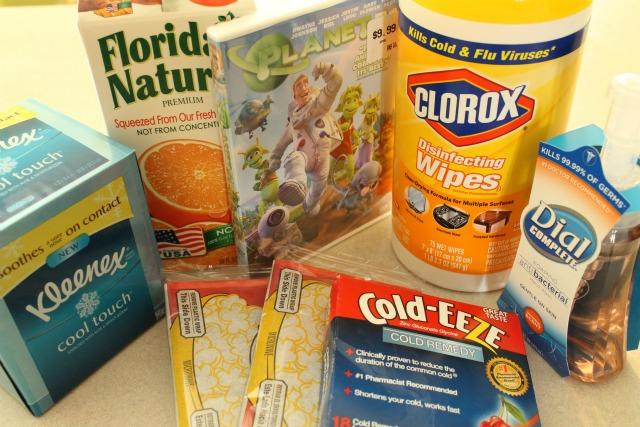 flu kit for kids, DIY